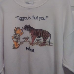 Vintage Disney Animal Kingdom Pooh Crewneck